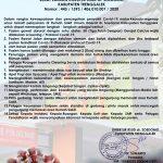 Surat Edaran Direktur Terkait Covid-19
