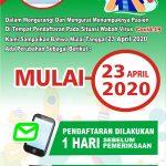Perubahan Jadwal SMS GATEWAY