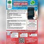 Pendaftaran Melalui Whatsapp